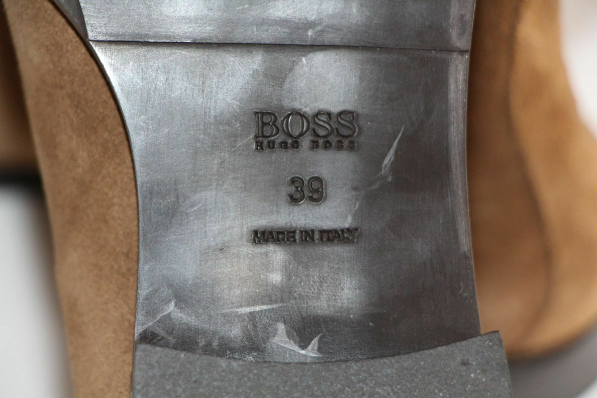 HUGO BOSS Stiefel, Gr. 39 / UK 6 / / / US 9,   , Made in  f60233