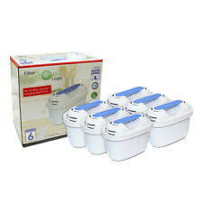 FilterLogic FL402-E Universal 6 Pack of Water Filters fits Brita Maxtra+ Plus