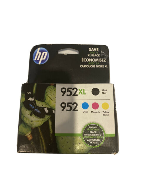 NEW GENUINE - HP 952XL + 952 FULL SET INK CARTRIDGES - N9K28AN - SEALED BOX 2019