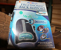 Mediflow Adjust Air Technology Ergonomic Back Support Cushion + Magnetic Therapy