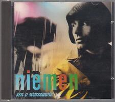 CZESLAW NIEMEN - SEN O WARSZAWIE 1995 GOLD DISC TOP RARE OOP CD POLSKA POLAND