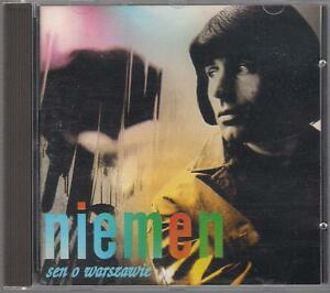 CZESLAW-NIEMEN-SEN-O-WARSZAWIE-1995-GOLD-DISC-TOP-RARE-OOP-CD-POLSKA-POLAND