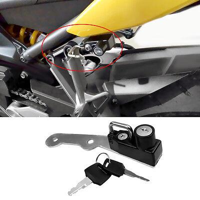 BarBaren Anti-Theft Helmet lock Motorcycle For Yamaha MT-09 13-17 FZ-09 13-17 FJ-09 13-17 XSR900 15-16