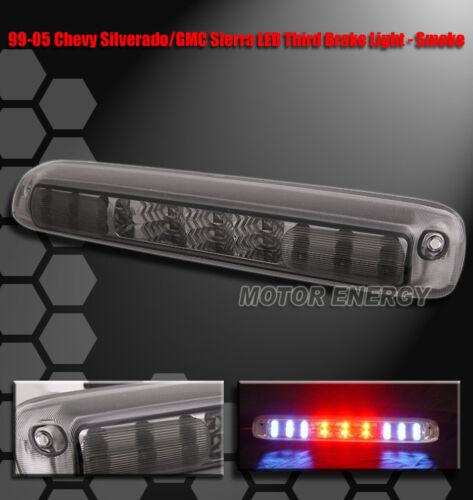 99-06 SILVERADO SIERRA PICKUP TRUCK LED THIRD BRAKE LIGHT LAMP SMOKE 02 03 04 05