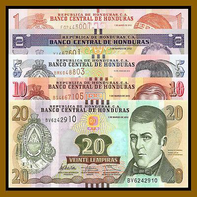 HONDURAS 5 LEMPIRA 2006 P 91 UNC LOT 10 PCS