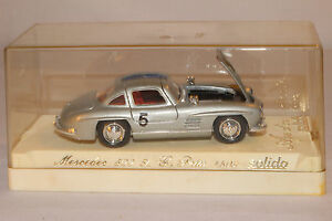 solido 1955 mercedes benz 300 sl grand prix 1 43 scale with box lot 2 ebay. Black Bedroom Furniture Sets. Home Design Ideas