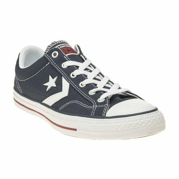 Converse Star Player EV Leather junior casual trainers