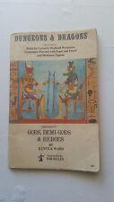 Gods, Demi-Gods & Heroes Supplement IV 4 Dungeons & Dragons Gygax 7th '79 d&d pb