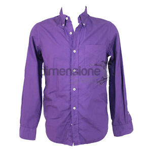 0d458c952a Details about CAMICIA UOMO TG. 39 MARINA YACHTING CAMICIE MEN MAN's CHEMISE  CAMISETA viola