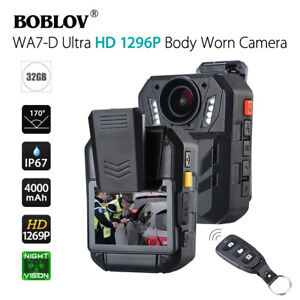 BOBLOV-WA7-D-Ultra-HD-1296P-32GB-2-0-034-Body-Worn-Camera-Recorder-Night-Vision-DVR