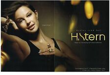 PUBLICITE ADVERTISING 2006   H. STERN    ASHLEY JUDD collection bijoux (2 pages)