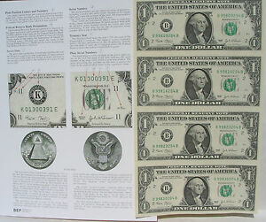 Crisp Fresh 2 Dollars 2013 Uncut Sheet $2 X 4 EXTREMELY RARE* USA FREE SHIP
