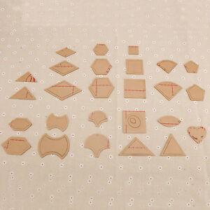 54Pcs-Mixed-Handmade-Quilt-Templates-DIY-Tools-Patchwork-Quilter-Quilting