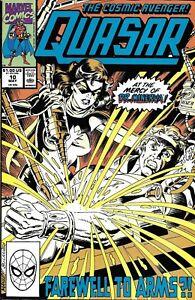 Quasar-Comic-Issue-10-Copper-Age-First-Print-1990-Gruenwald-Manley-Morgan-Chiang