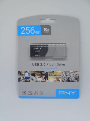 PNY 256GB Turbo Attache 3 USB 3.0 Flash Drive