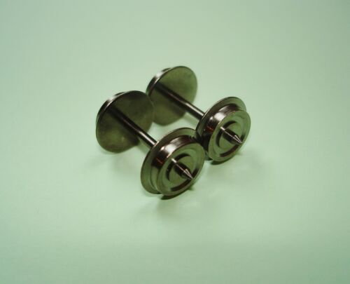 12 x H0-Wechselstrom Radsätze//Achsen für Roco 11,0mm A:24,75 mm NEU! WS//AC