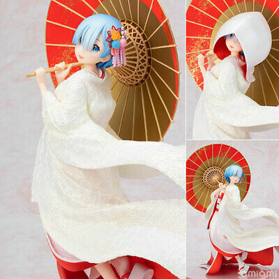 Anime Re:Life In A Different World From Zero Rem Figure White  No Box