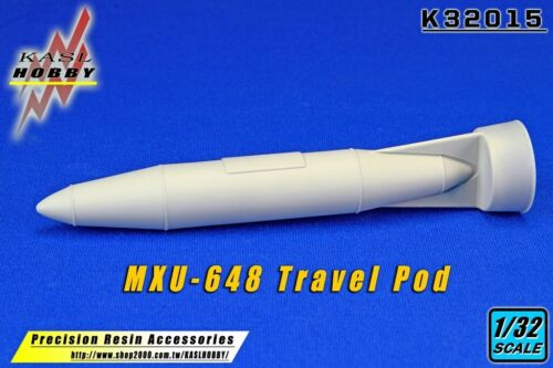 KASL Hobby 1//32 MXU-648 Travel Pod 2 set resin upgrade