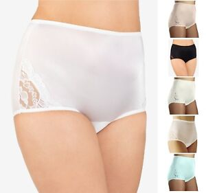376225776be8 NWT Vanity Fair Perfectly Yours Lace Nouveau Brief Lace 13001 Nylon ...
