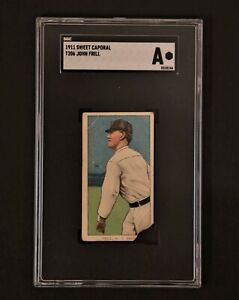1911 Sweet Caporal T206 John Frill SGC Authentic
