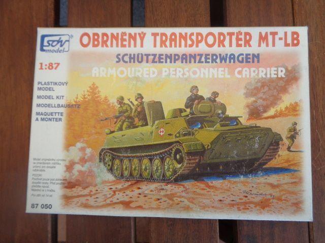 Sdv Model Mt-Lb Trasportatore / Corazzato Difesa Nva / Rosso Esercito Warschauer
