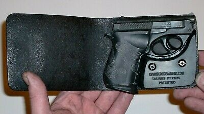 KCH Wallet Style For Full Concealment Taurus PT-22//PT-25 Pocket Holster