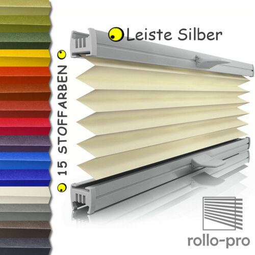Pleated Folding Doors Made to Measure ☆ Shine ☆ Bar Silver ► Blinds plisses Blinds New!