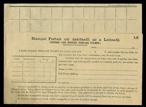 IRELAND 1922 POST OFFICE STAMPS RETURNED FORM...BUY BACK...UNUSED
