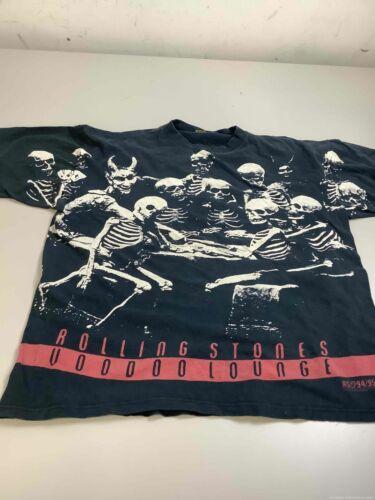 Men's Vintage Rolling Stones Voodoo Lounge Shirt S