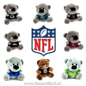 NFL-Football-Teddybaer-vers-Teams-Fanartikel-Seahawks-Patriots-Steelers-49ers