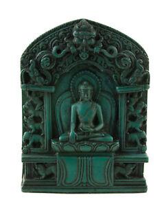 Ghau Gau Soprammobile Tibetano Budda Shakyamuni Bodhisattva Altare Votiva 590