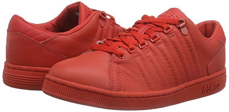 K-Swiss scarpe da ginnastica Lozan III Monochrome NUOVO gr 41, 41, 41, 5 ROSSO rosso UOMO 03781-646m 558a3e