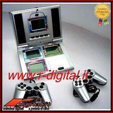 CONSOLE PORTATILE LCD 4in1 VIDEOGIOCO 2 CONTROLLER CALCIO AEREO COMBATTIMENTO
