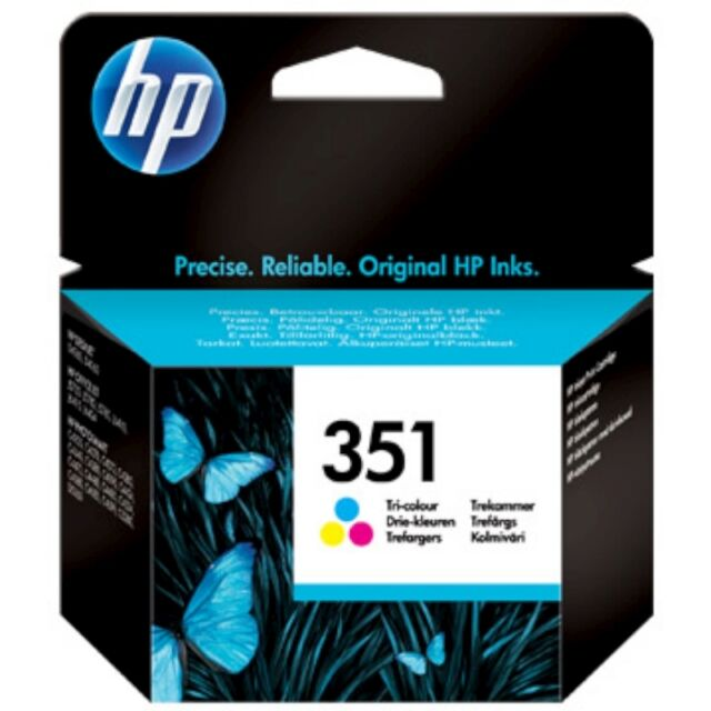 HP No 351 Colour Original OEM Inkjet Cartridge CB337EE Officejet