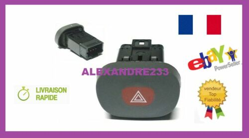 BOUTON INTERRUPTEUR WARNING CLIO 2 phase 1 référence 7700421820 VENDEUR PRO