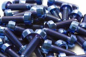10x-Titanium-Blue-Bolts-for-BBS-Split-Rim-Wheels-M7-x-24mm-for-RX2-RS2