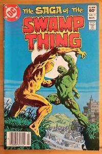 The-SAGA-of-the-SWAMP-THING-11-1983-DC-Comics-FN-Book