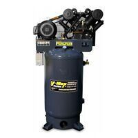 Bendpak V-max Elite Air Compressor Phase 3, 80 Gallon, 7.5hp Vmx-7580v-603