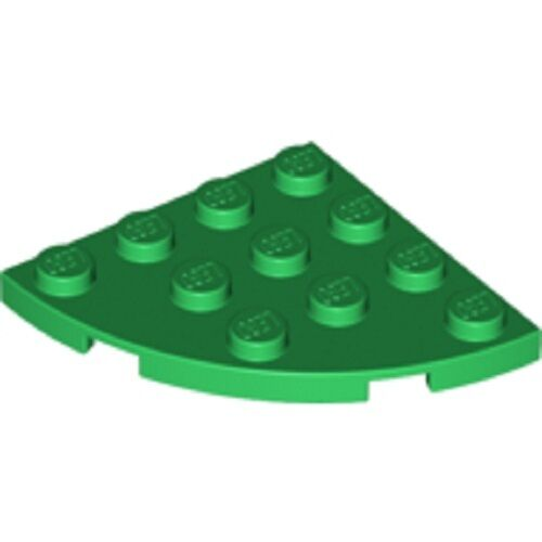LEGO Plate 4X4 Round Corner 1//4 Circle NEW 30565 choose colour and quantity