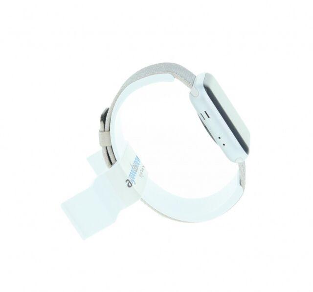 Apple Watch (Series 2) 42mm Aluminiumgehäuse Silber mit Nylon-Armband Pearl