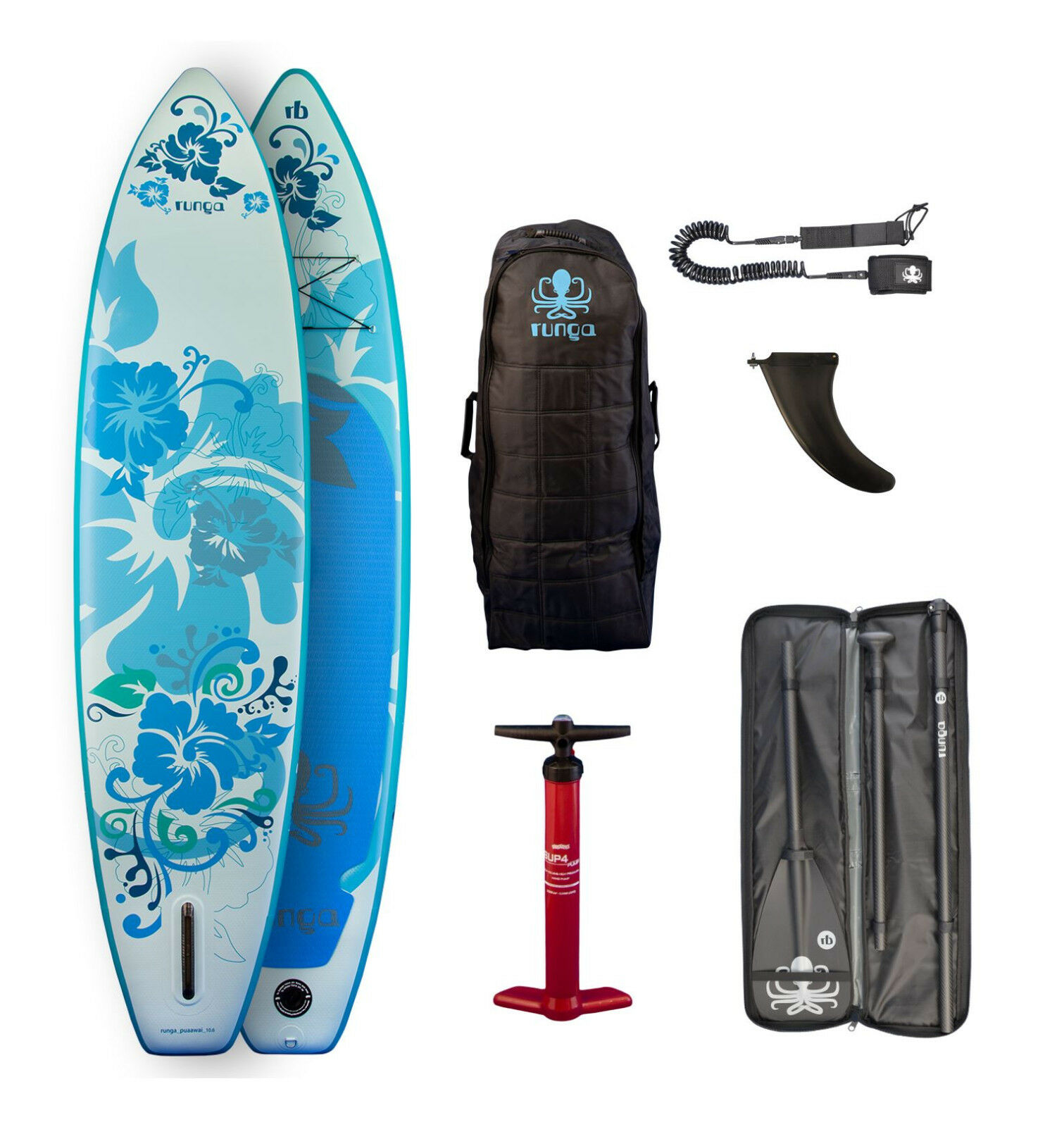 RUNGA PUAAWAI INFLATABLE STAND-UP STAND-UP STAND-UP PADDLE BOARD 10.6 ISUP PADDLING SUP  RB2 a92156