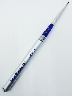 Paint Brush 1 x Fine Detail Size #00 Pure Kolinsky Sable Hair Aluminium Handle