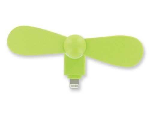 3pk 8-Pin Lighting Mobile Phone Rotating Fan Portable Dock Cooler iPhone iPad