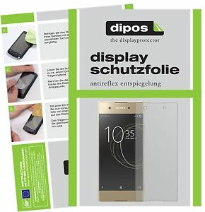 2x-Sony-Xperia-XA1-Film-de-protection-d-039-ecran-protecteur-antireflet-dipos