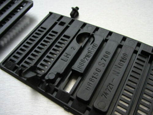 92-97 N//S Hardbody Navara D21 Pair wiper cowl grill with clip truck pickup pin