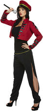 Popstar Judge Cheryl Cole Celebrity Military Fancy Dress Costume P8109