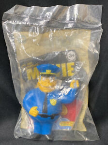 The Simpsons Movie Burger King Toy Chief Wiggum Sealed Ebay