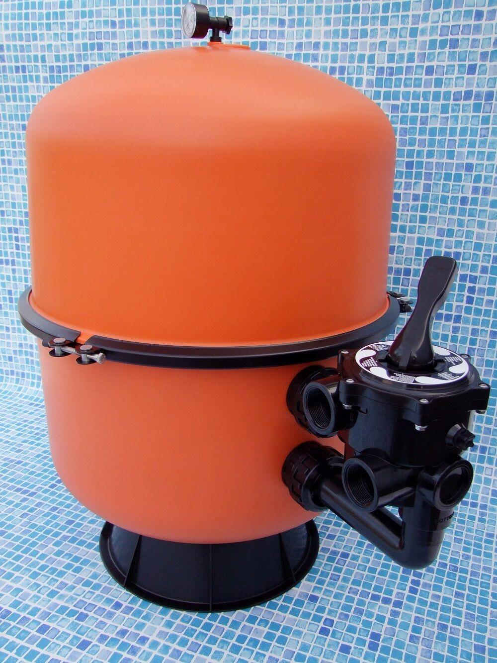 Filterkessel Bilbao 600 mm Durchmesser geteilt Kessel Sandfilter teilbar