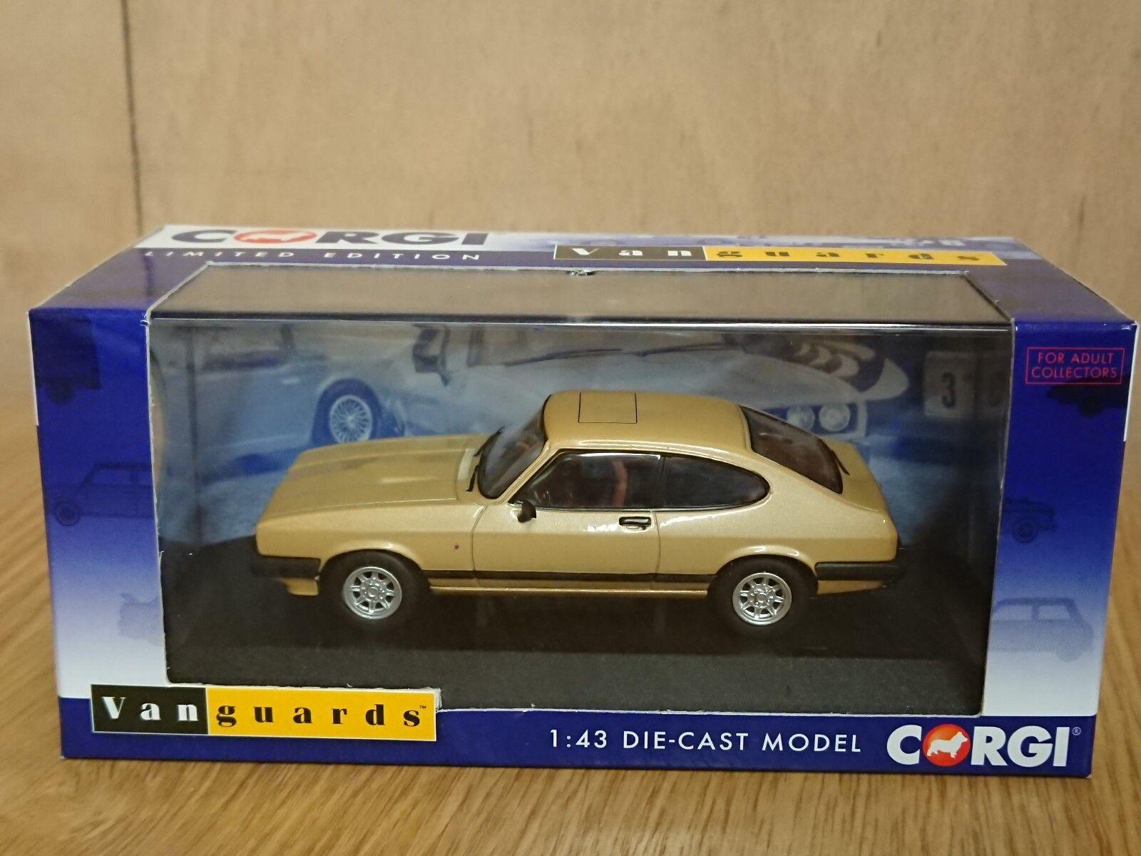 Corgi VA10814B Ford Capri Mk3 3.0 Ghia oro LHD Alemania Ltd Edition 600 de 600