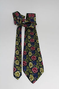 I-Guelfi-100-Silk-Floral-Colorful-61-034-Luxurious-Dress-Tie-Couture-Italy